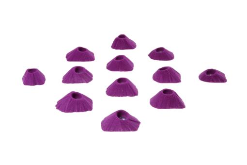 Stopnie wspinaczkowe w kształcie wulkanów